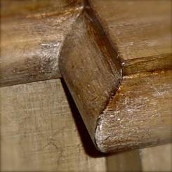 Aged timber finish